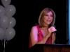 Kristin as the MC at the Blind Children's Learning Center Gala Awards and Auction
